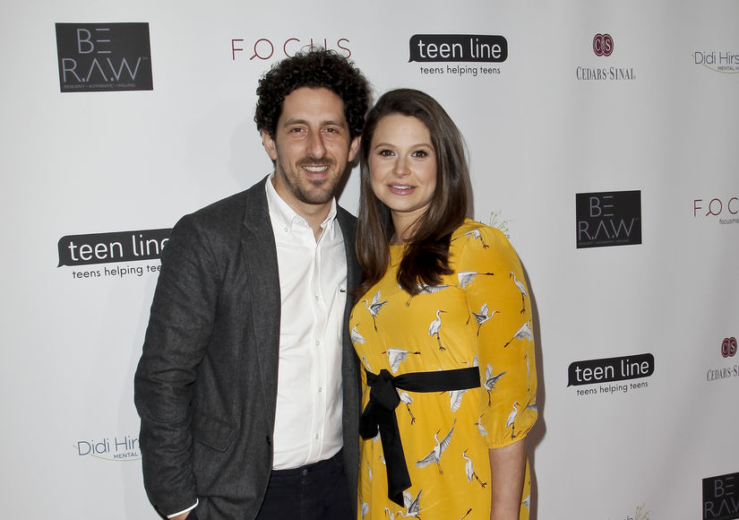Katie Lowes & Husband Adam Shapiro Welcome Baby Boy — What's His Name?