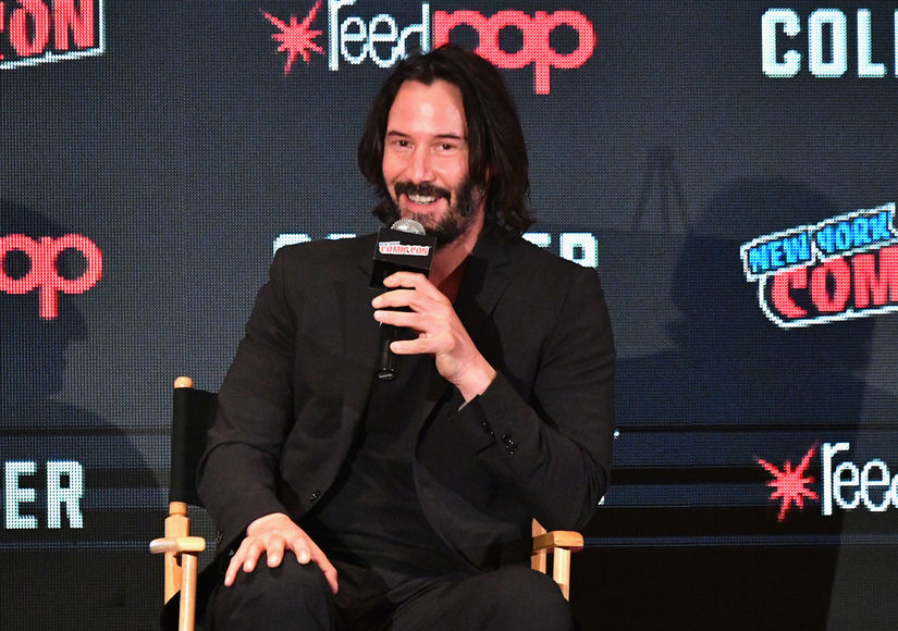 Keanu Reeves Reveals How Halle Berry 'Raised the Bar' in 'John Wick 3'