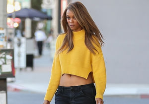 Tyra Banks Shows Off Revenge Bod While on Date with Mystery Man
