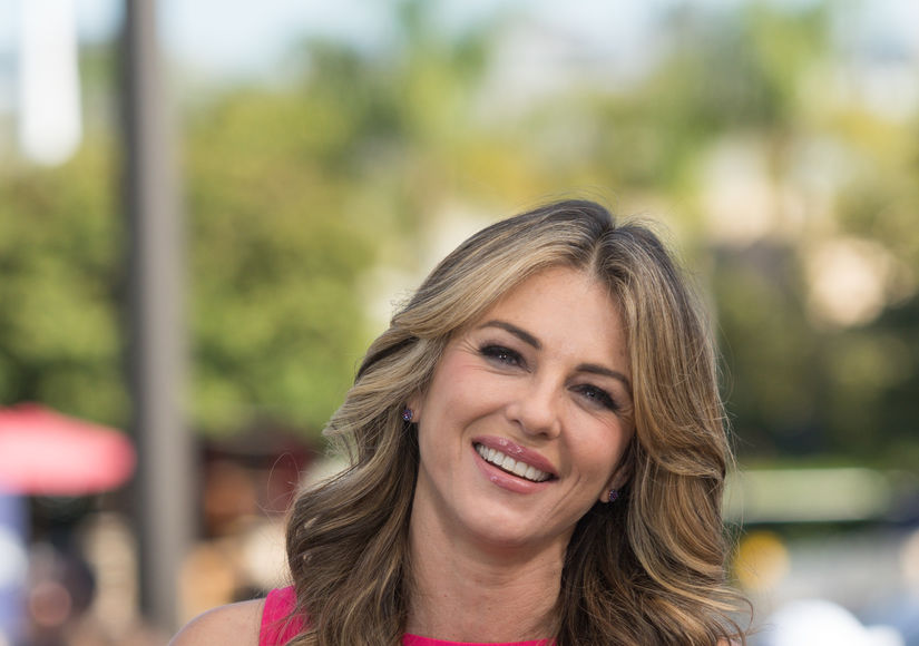 Elizabeth Hurley on Why She Got Involved in Breast Cancer Awareness