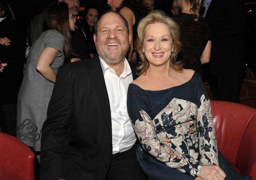 Meryl Streep Bashes 'Disgraceful' Harvey Weinstein, Plus: Lauren Sivan's Disturbing  Encounter