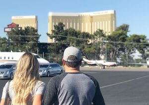 Jason Aldean & Wife Brittany Return to Las Vegas After Tragedy