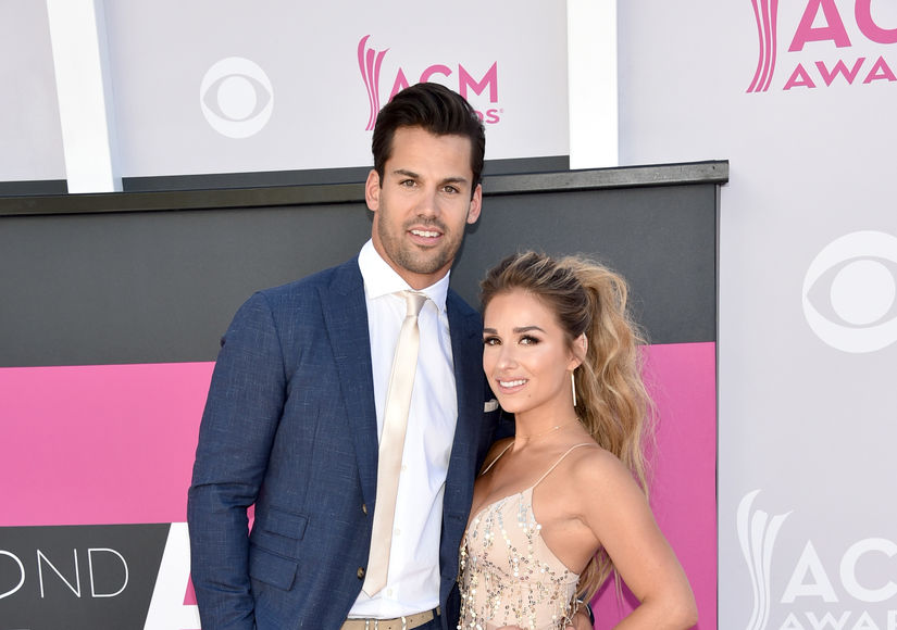 First Pic! Eric & Jessie James Decker Welcome Baby #3