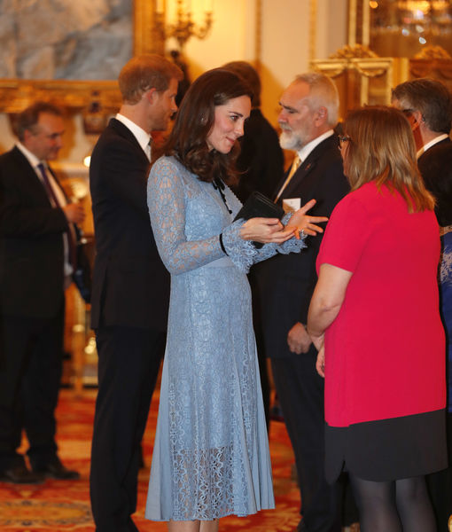 Kate Middleton Debuts Tiny Baby Bump — See the Pic!