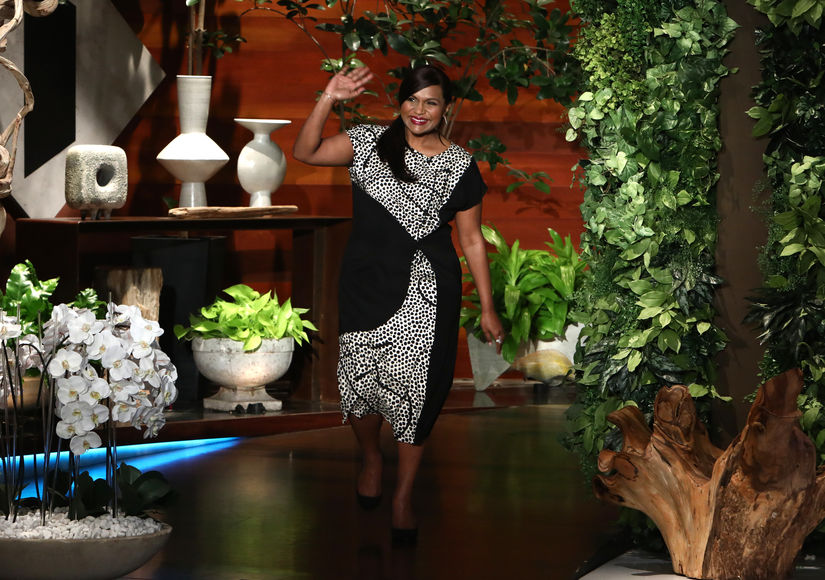 Pregnant Mindy Kaling Reveals Gender of Her Baby on 'Ellen' - Watch Here!