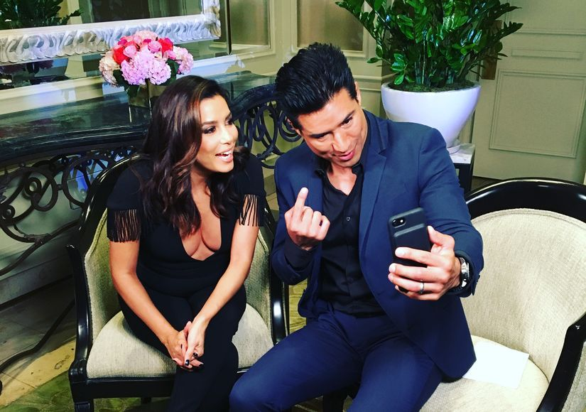 Eva Longoria's Mom Has Priceless Reaction to Mario Lopez's Hair