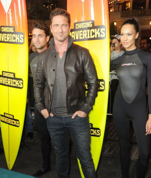 Gerard Butler's Brush with Death on the 'Chasing Mavericks' Set