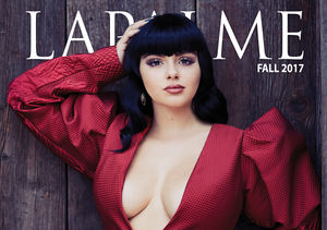 See Ariel Winter's Bettie Page-Inspired Photo Shoot for Lapalme…