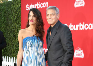 George Clooney and Matt Damon's Double Date Night at 'Suburbicon'…