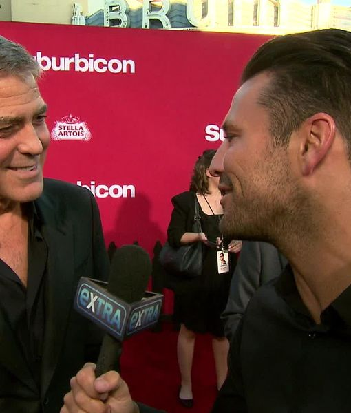 George Clooney and Matt Damon's Double Date Night at 'Suburbicon' Premiere