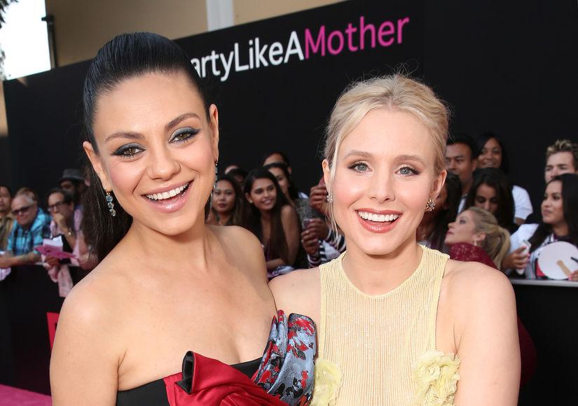 Mila Kunis & Kristen Bell's Funny 'Bad Moms' Confessions