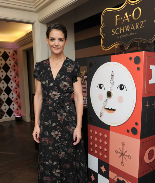 Katie Holmes on Family Traditions with Suri, Plus: Win a Toy from the FAO Schwarz Holiday Collection