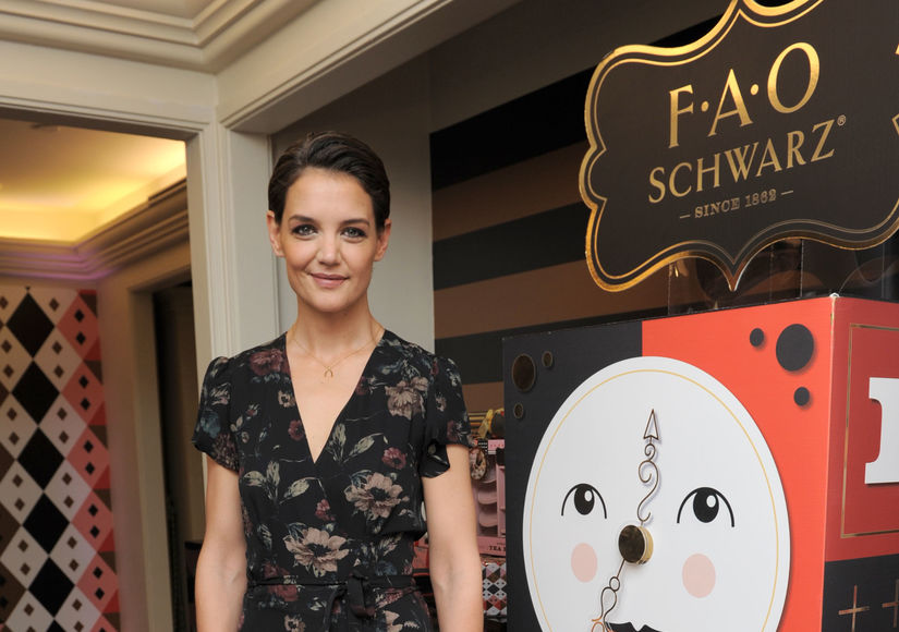 Katie Holmes on Family Traditions with Suri, Plus: Win a Toy from the FAO…