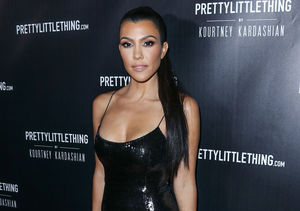Kourtney Kardashian Stuns in Pretty Little Black Dress, Plus: Her…