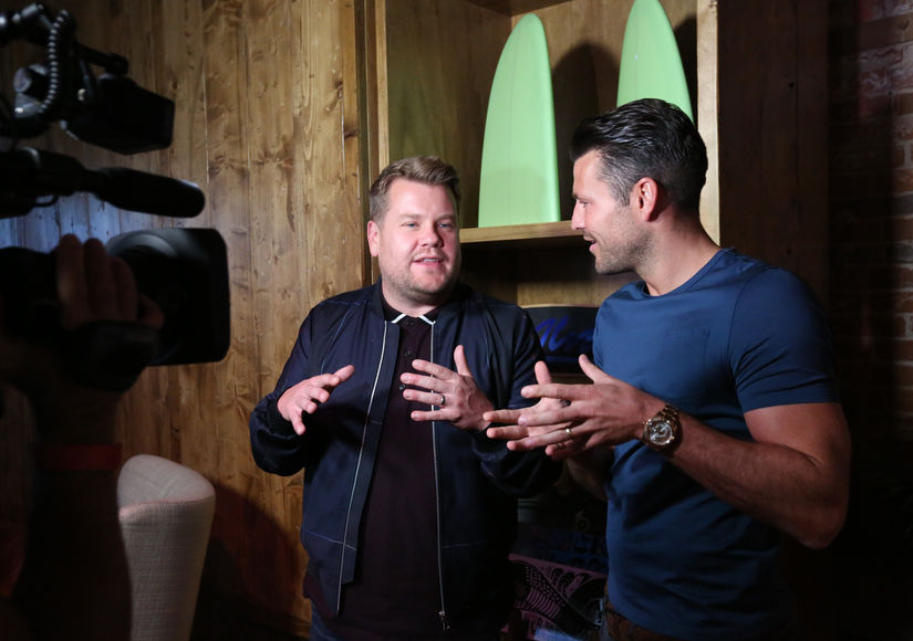 James Corden's Priceless Tips for Mark Wright on How to Make It in Los Angeles