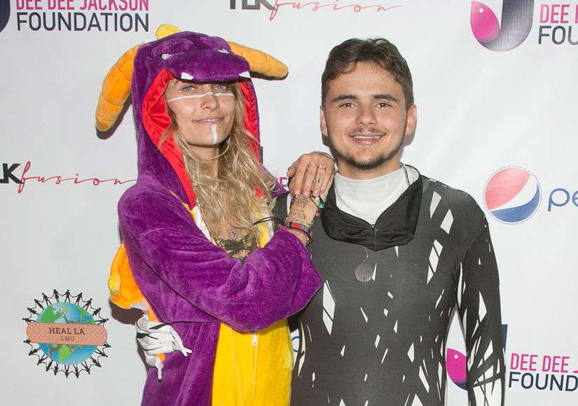 Paris & Prince Jackson Step Out in Costume for a Good Cause