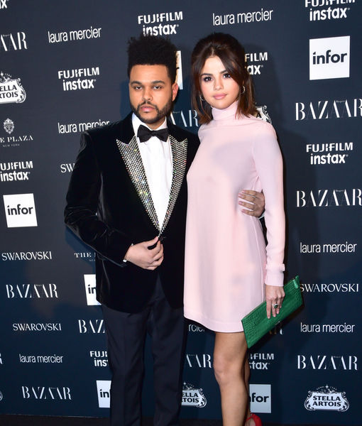 Selena Gomez & The Weeknd Split