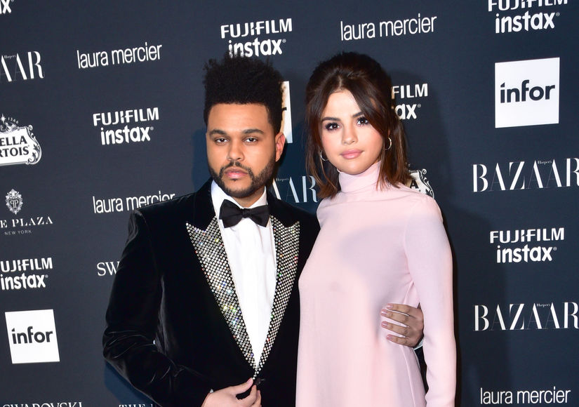 Selena Gomez & The Weeknd Split