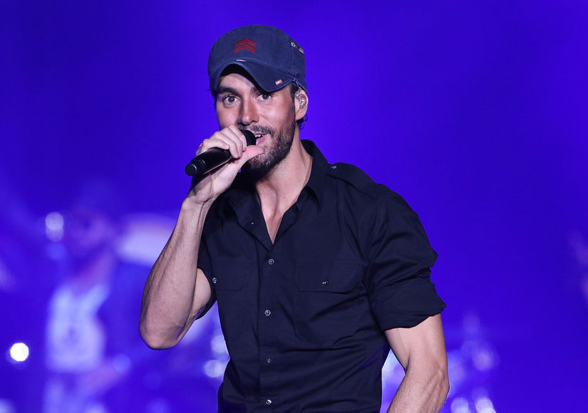 Enrique Iglesias Dishes on His Tour and Why He's Never Joined a Reality Singing Show