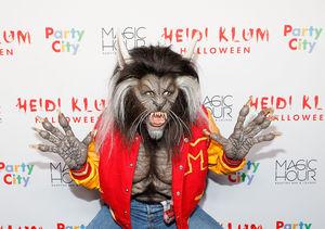Heidi Klum Won Halloween with Her 'Thriller' Costume