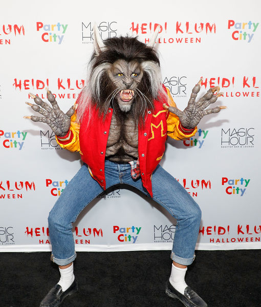 Heidi Klum Won Halloween with Her 'Thriller' Costume