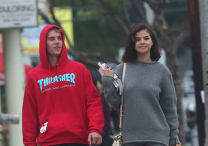 New Photos! Justin Bieber & Selena Gomez Snuggled Up in L.A.
