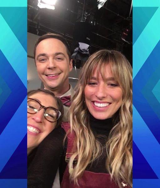 Wedding Plans, Professor Proton, and More! 'Extra' Visits 'The Big Bang Theory'