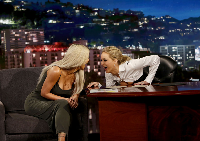 Farts, Cheating, O.J. Simpson! Jennifer Lawrence's Epic Interview with Kim K