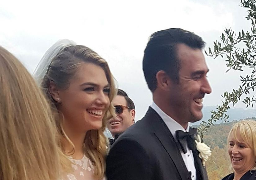 Kate Upton Weds Astros Player Justin Verlander