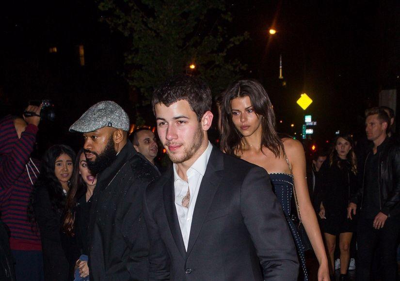 Pic! Is Nick Jonas Dating a Victoria's Secret Model?