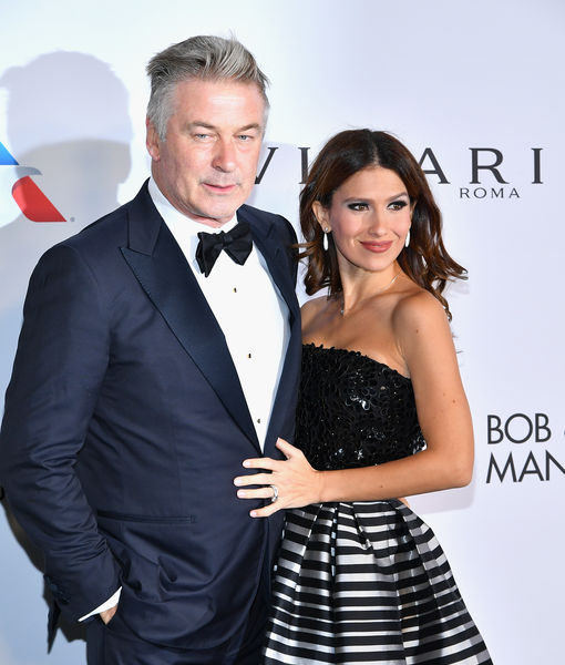Alec & Hilaria Baldwin on Baby #4, Plus: His 'Tough' Gig as Trump on 'SNL'