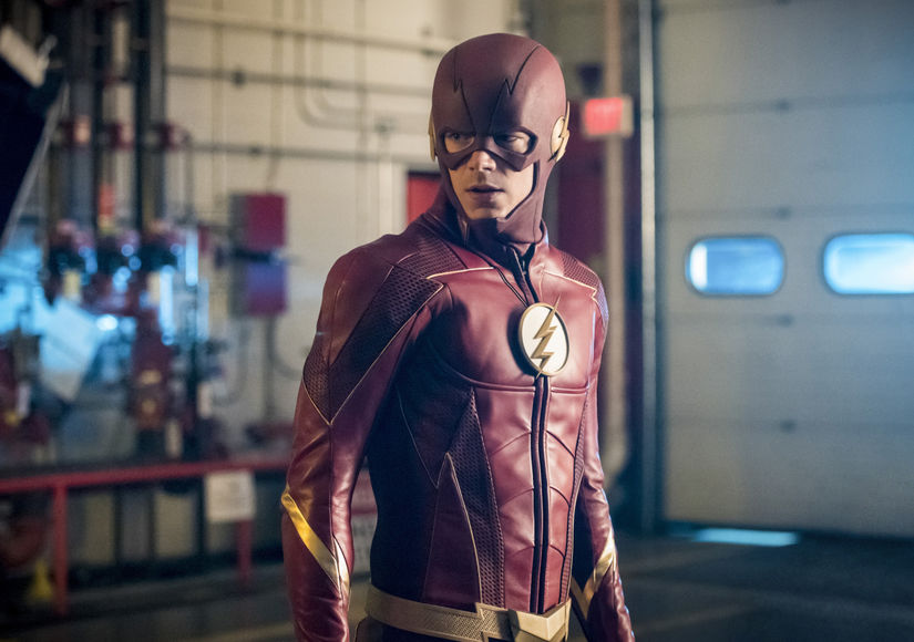 'The Flash' Star Grant Gustin on the 'Bigger Than Ever' Crossover, Wentworth Miller's Exit and More