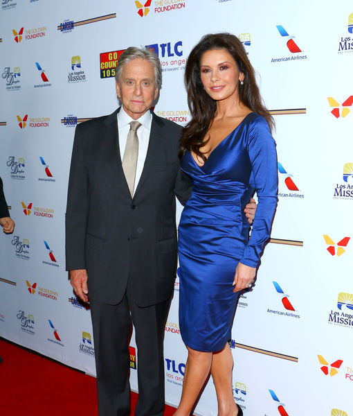 Michael Douglas Dishes on Becoming a Grandpa, Plus: His Date Night with Wife Catherine Zeta-Jones