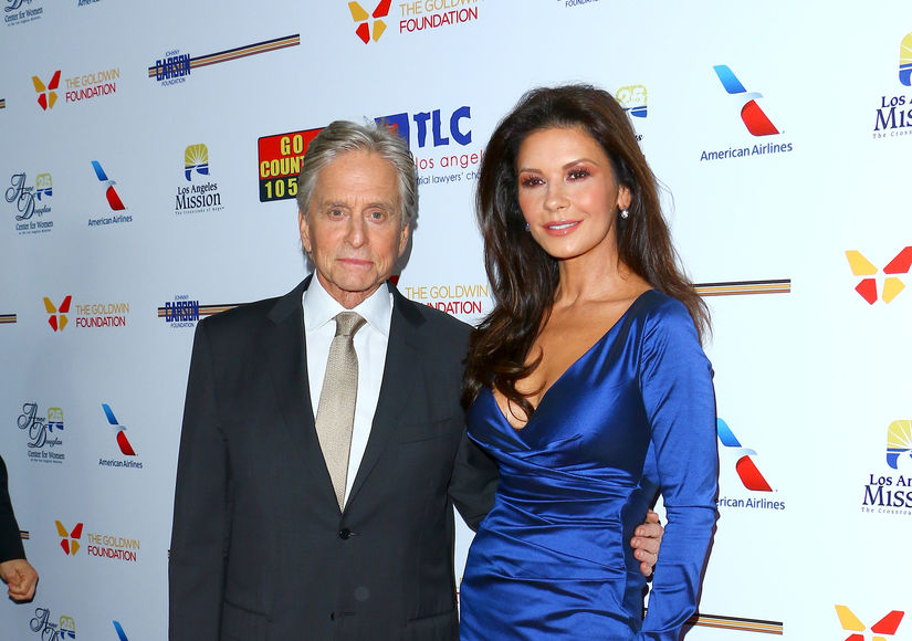Michael Douglas Dishes on Becoming a Grandpa, Plus: His Date Night with Wife…
