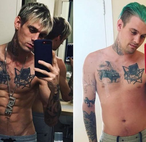 Aaron Carter 'Feels Amazing' After Rehab, 45-Lb. Weight Gain