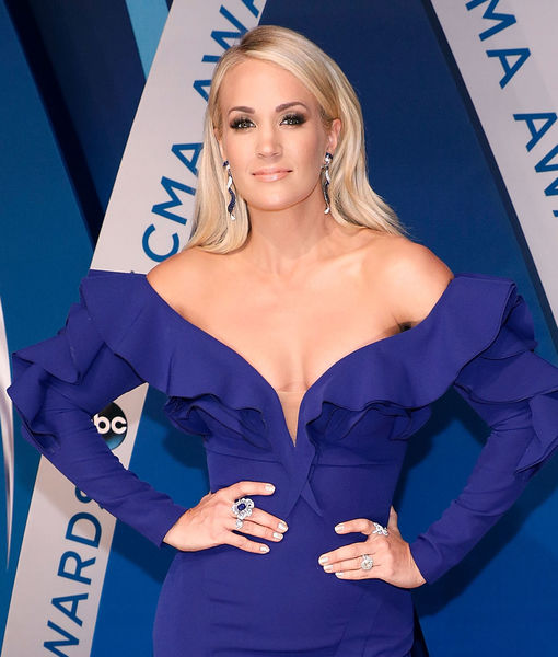 Carrie Underwood Recovering After 'Hard Fall'