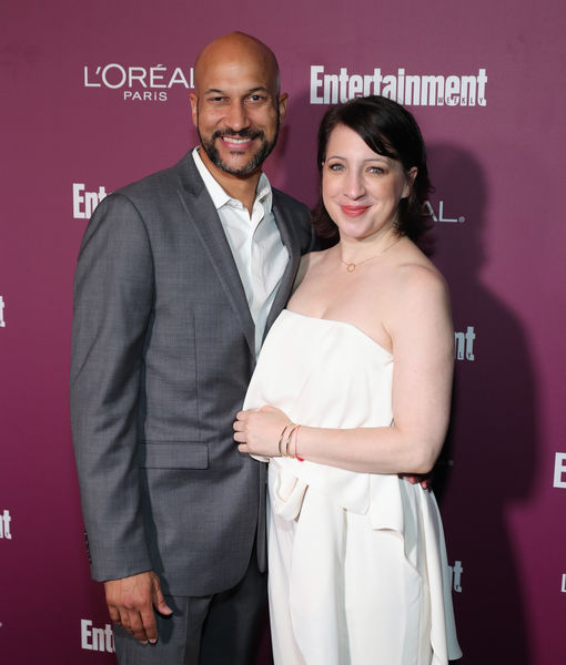 Keegan-Michael Key & Elisa Pugliese Engaged!