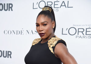 New Mom Serena Williams Stuns in Dress Gigi Hadid Wore on the Runway