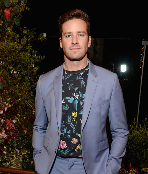 Armie Hammer Jokes About the Drug That Will Help Him Through Another Awards…