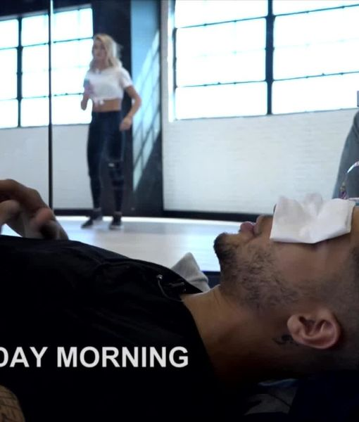 'DWTS' Video! See the Exact Moment Jordan Fisher Suffered His Painful Eye…