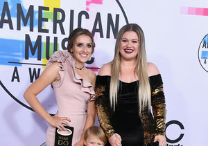 Kelly Clarkson on Taking Her Kids to the AMAs!