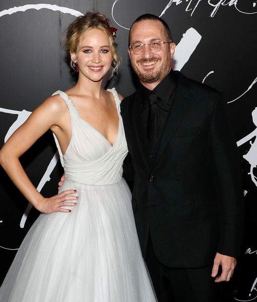Jennifer Lawrence & Darren Aronofsky Split