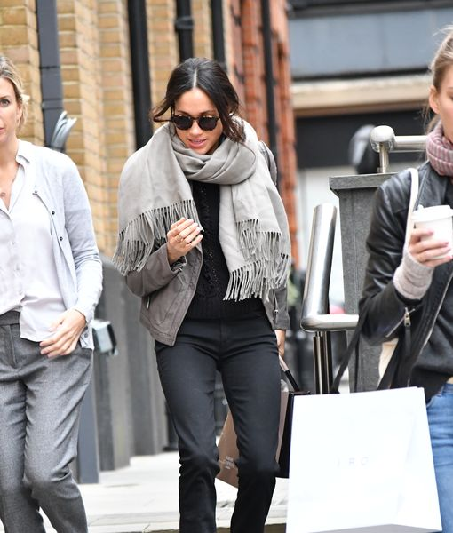 Pic! Meghan Markle in London After 'Suits' Exit – Is She Marrying Prince Harry Soon?