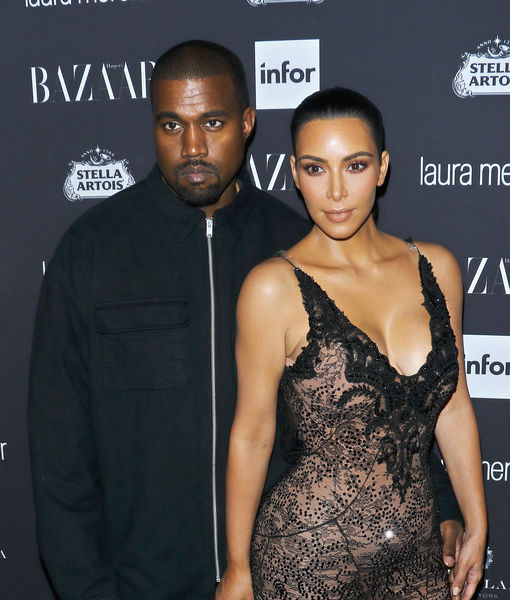 Kim Kardashian & Kanye West Welcome Baby #4
