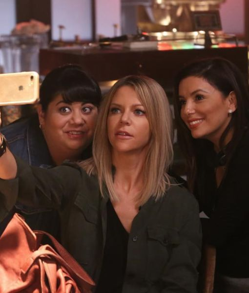 Go Behind the Scenes as Eva Longoria Directs 'The Mick'