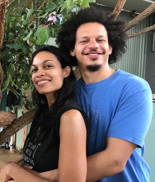 Rosario Dawson & Eric Andre Split