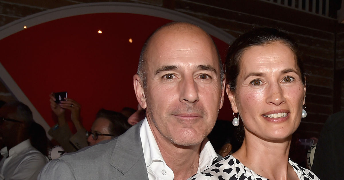 Matt Lauer's Wife Reportedly Leaves Their Home, Al Roker
