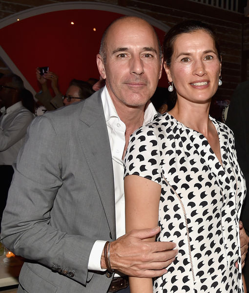 Matt Lauer's Wife Reportedly Leaves Their Home, Al Roker 'Trying to Process' Lauer's Fall