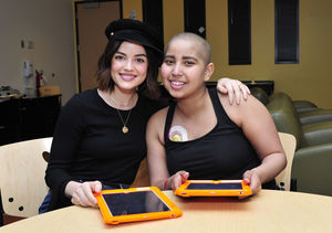 Stars Giving Back: Lucy Hale's Visit to Children's Hospital Los Angeles