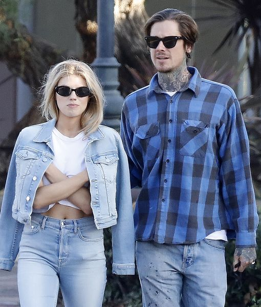 Pic! Charlotte McKinney Spotted with Tattooed Mystery Man